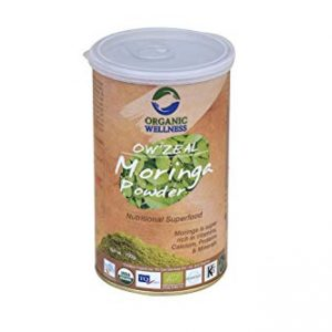 Organic Wellness Moringa Powder – a Rich Source of Essential Vitamins (100 grams / 3.53 oz)
