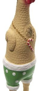 Charming Pet Products Christmas Earl Pet Squeak Toy, Small
