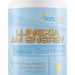 Lunexia Am Energy Weight Loss – Wake Up with Increased Metabolism – Endurance & Energy – No Black Stained Teeth – Coffee Alternative – Help Yourself Burst into Your Day with Vigor t