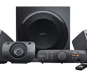 Logitech Z906 5.1 Surround Sound Speaker System – THX, Dolby Digital and DTS Digital Certified