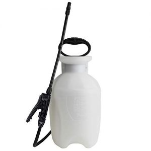 Chapin 20000, 1 Gallon Lawn, Garden and Multi-Purpose Sprayer with Adjustable Nozzle, Translucent White