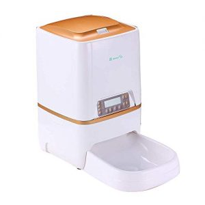 BELOPEZZ 6L Smart Pet Automatic Feeders for Dog and Cat Food Dispenser with Timer Programmable Up to 4 Meals a Day