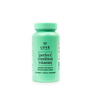 Love Wellness Perfect Condition Vitamin – Reduce Inflammation – Destroy Yeast – It's Magical!