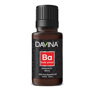Body Armor Immunity Essential Oil Blend 10ml Therapeutic Grade by Davina