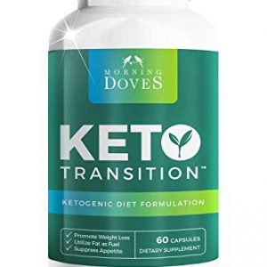 Morning Doves Keto Pills :: Keto Supplement with BHB :: cGMP Compliant Food Grade :: Exogenous Ketone Supplement Optimally Formulated for Transition to Ketosis