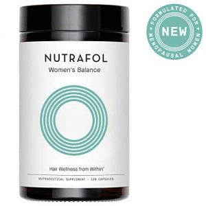 Hair Loss Thinning Supplement – Women Hair Vitamin for Thicker Healthier Hair Growth – Nutrafol Women's Balance for Menopause Support
