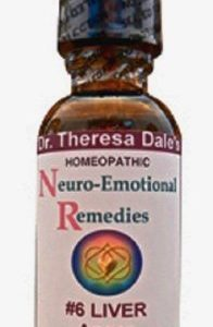 Dr. Dale's Neuro-Emotional #6 – Liver – Anger & Frustration – Homeopathic Remedy – Safe & Effective – True Wellness – Non-GMO – Gluten Free – Vegan & Organic