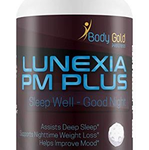 Lunexia Pm Plus – Sleep Aid – Sleep Well – Good Night – Valerian Root & a Blend of Powerful Proprietary Sleep Supporting Ingredients to Help You get The Good Nights Rest You Need – Assist Deep Sleep