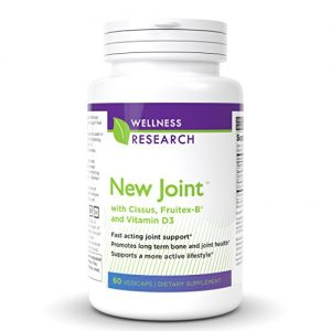 New Joint Cissus, Boron, Vitamin D Anti-Inflammatory Plant Based Joint Support Complex- Most Powerful Joint Pain Relief – 60 Capsules
