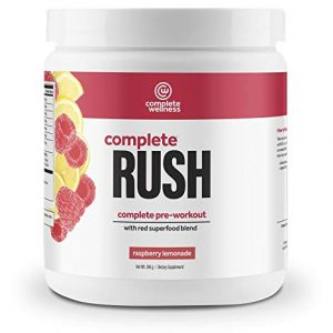 Complete Wellness Complete Rush Pre-Workout (20 Servings) Raspberry Lemonade
