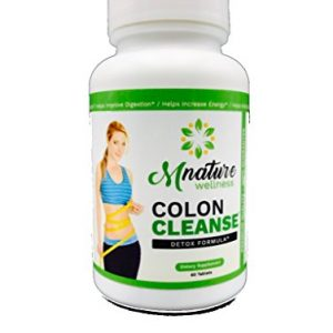 MNature Wellness Colon Cleanse – Potent and Effective – Detox and Cleanse Safely for Cleanse and Detoxification Supplement – 60 Capsules