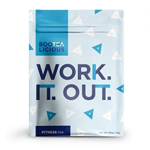 Pace Brands – Bootealicious Work.It.Out. Fitness Tea | 100% Natural Weight Loss Tea | Fight Bloating, Release Toxins, Cleanse Digestive System, Help Slim You Down | Without Laxatives | Loose Leaf 50g