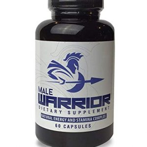 Male Warrior | Maximum Strength Libido Enhancer | L-Arginine, Maca Root & Tribulus | Increase Stamina & Endurance | Proprietary Blend | 60 Capsules, 30 Servings