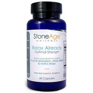 Relax Already – Natural Muscle Relaxer – 60 Capsules