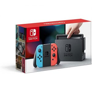 Nintendo Switch – Neon Red and Neon Blue Joy-Con –HAC 001