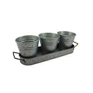 Better Homes & Gardens Galvanized Serving Caddy Or Planter