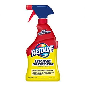 Resolve Urine Destroyer Spray Stain & Odor Remover, 32oz