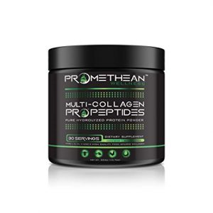 Multi-Collagen Pro Collagen Peptides All-in-One Pure Hydrolyzed Protein Powder 10.7oz 30 Servings Unflavored Type I, II, III, V and X Premium High Quality Food Source Amino Acids Non-GMO GMP USA