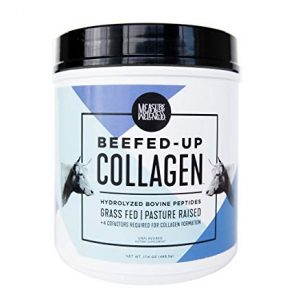 Beefed-Up Collagen – Grass Fed Collagen Peptides Plus Four Cofactors Required For Boosting Collagen Formation