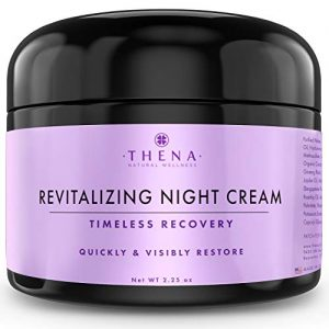 Night Cream Anti Aging Wrinkle Cream With Hyaluronic Acid Argan Oil, Organic Natural Face Moisturizer & Under Eye Cream For Dark Circles, Rapid Repair Facial Lotion For Dry Sensitive Skin, Women & Men