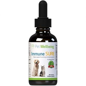 Pet Wellbeing Immune Sure for Dogs – Natural Immune System Boost for Dogs – 2oz (59ml)