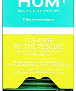 HUM Cleanse to the Rescue – 21 Day Beauty Detox Program (21 Packets)