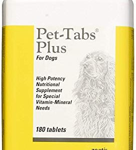 Pet-Tabs Plus For Dogs – 180 Tabs