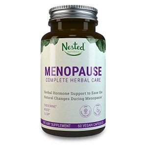 MENOPAUSE CARE Complete Complex   60 Vegan Capsules   Naturally Sourced Black Cohosh Extract 40mg & Dong Quai Root   Mood Swings & Hot Flashes Relief Linked to Menopause   One A Day…