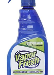 Vapor Fresh Natural Cleaning and Deodorizing Spray – Great For Sports Pads, Yoga Mats, Shoes, Boxing Gloves and Gym Equipment, 16 Ounces (1-Pack)