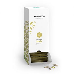 YouVeda – My Healthy Body|Premium Ayurvedic & Herbal Supplements & Mobile App|Convenient All in one Packet|30 Day Supply|Doctor Formulated|Overall Health, Stress & Longevity Support