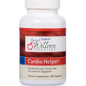 Cardio Helper with Resveratrol, Hawthorne, Horse Chestnut and Grape Seed Extract for Blood Pressure, Fluid Retention, and Varicose Veins