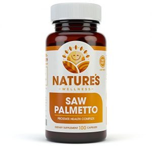 1000mg Saw Palmetto Prostate Supplement, Berry Power + Extract – Maximum Strength to Promote Prostate Heath, Reduce Frequent Urination and Block DHT Related Hair Loss Naturally |100 Caps