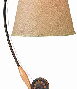 Kenroy Home 32193ORB Fly Rod Table Lamp, 27.5″ x 12″ x 28″