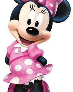 RoomMates Minnie Bow-Tique Peel and Stick Giant Wall Decal – RMK2008GM