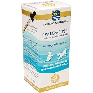 Nordic Naturals – Omega-3 Pet (Cats and Small Breed Dogs) – 2oz (2 Pack)