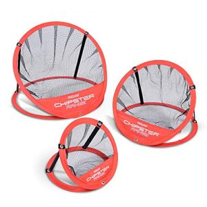 GoSports CHIPSTER Range – 3 Piece Golf Chipping Practice Net Target System with Carrying Case