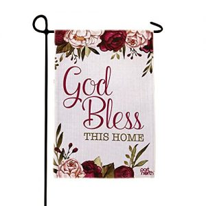 Port North God Bless This Home Outdoor Garden Flag
