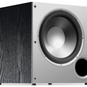 Polk Audio PSW10 10″ Powered Subwoofer – Featuring High Current Amp and Low-Pass Filter | Up to 100 Watts | Big Bass at A Great Value | Easy Integration Home Theater Systems