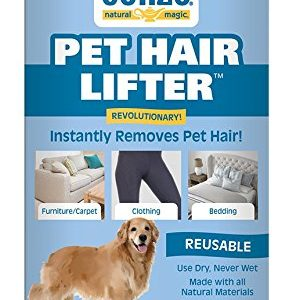Gonzo Pet Hair Lifter – Remove Dog, Cat and Other Pet Hair from Furniture, Carpet, Bedding and Clothing – 1 Sponge