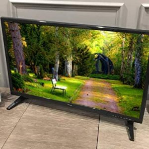 Free Signal TV Transit 32″ 12 Volt DC Powered LED Flat Screen HDTV for RV Camper and Mobile Use