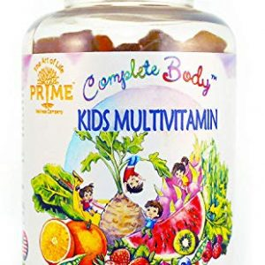 Kid Multivitamin Gummies: Vitamin A, C, D, E, B6, B12 Top Essential Vitamins & Minerals | Supports Immune, Energy, Metabolism + Choline for Focus | No Sugar, Gluten Free & Non-GMO by…
