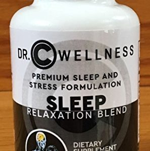 """Natural Sleep and Relaxation Blend"" with Valerian Root, Melatonin, L-Tryptophan, St-John's Wart, Ashwagandha, 5-HTP, Inositol, Chemomile."