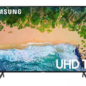 Samsung UN75NU7100FXZA Flat 75″ 4K UHD 7 Series Smart LED TV (2018)